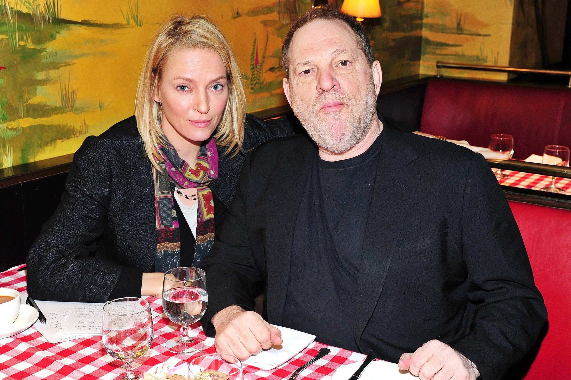 Uma Thurman rivela le molestie di Harvey Weinstein