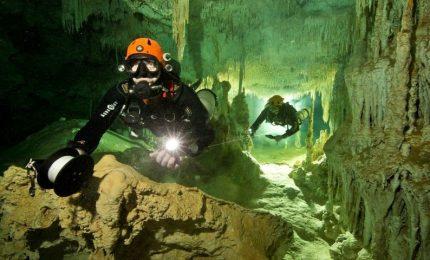 Scoperta in Messico la grotta allagata più lunga del mondo, 347 Km