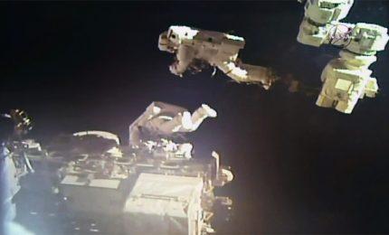 Spazio, missione extraveicolare sulla Iss per due astronauti
