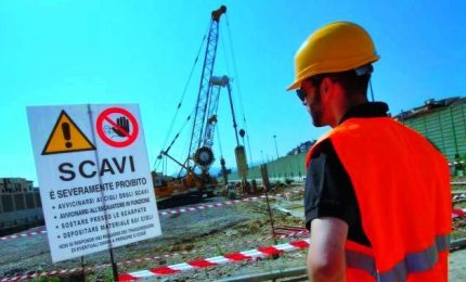Cantieri, affidamento diretto entro 40 mila euro
