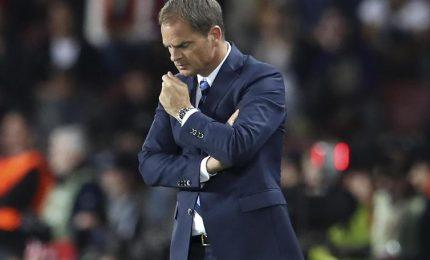 """De Boer: """"All'Inter difficoltà di tutti i tipi"""""""