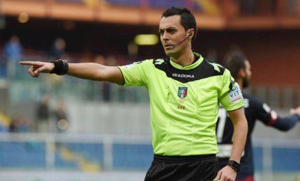 Arbitri serie A, Benevento-Napoli a Di Bello
