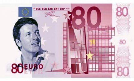 """Polemica Pd-M5s sugli 80 euro: """"Vogliono abolirli"""", """"Fake news"""""""