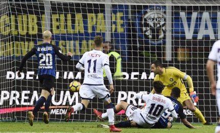 L'Inter nelle sabbie mobili, il Crotone la raggiunge: 1-1