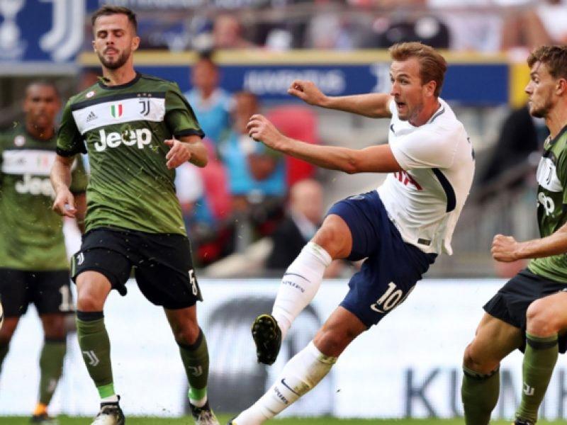 Juve partenza sprint poi si affloscia, col Tottenham 2-2