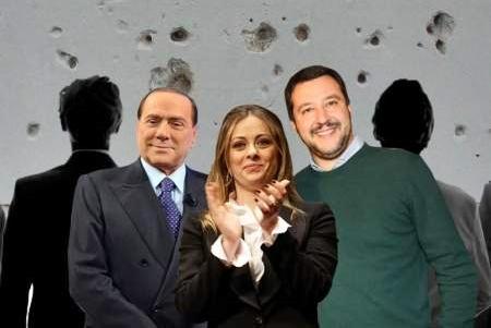 Consultazioni e piazza, centrodestra diviso. Berlusconi da Conte