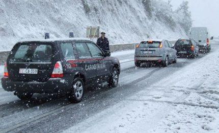 Neve in Campania, Puglia, Basilicata e Calabria