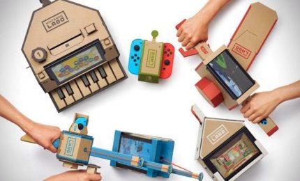 Ecco come funzionano i nuovi kit di Nintendo Labo