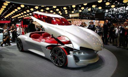 Le supercar del futuro in mostra al Salone dell'auto di Parigi