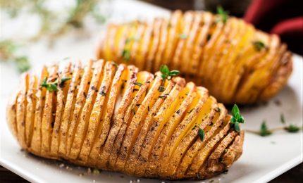 Dalla Svezia, le patate hasselback