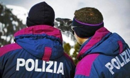 Incidente sullo slittino, polizia salva bimba 10 anni a Bolzano