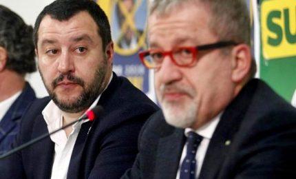 Maroni e Salvini separati in casa