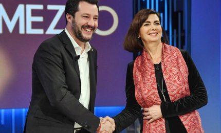 Salvini-Boldrini, faccia a faccia ruvido in tv