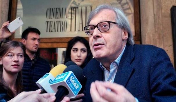 Sgarbi co-sindaco di urbino, delega cultura