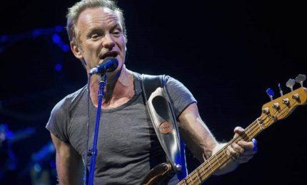 """Sting """"punge"""" ancora e inocula rock"""