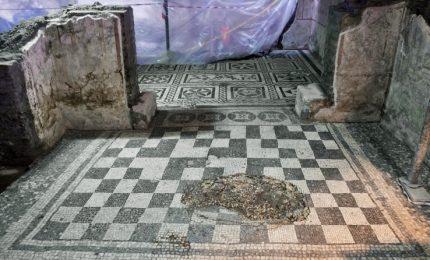 """Scavi della Metro C portano alla luce la """"Casa del comandante"""""""