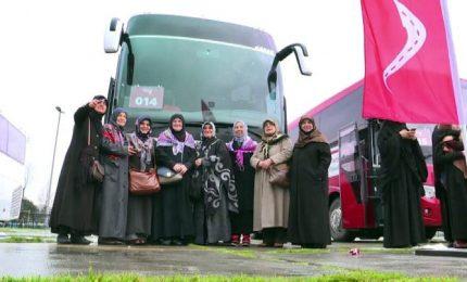 Festa donna, solidarietà di 7mila donne turche a siriane