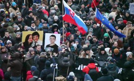 Funerali di Kuciak, Slovacchia dà l'addio al giornalista