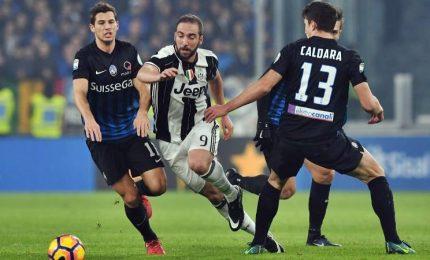La Juventus allunga a +4, con Atalanta tutto facile