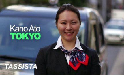 Ritratti di donne: una tassista a Tokyo