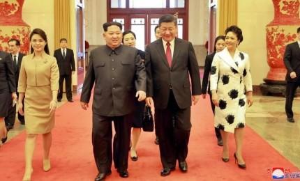 Storica visita di Kim Jong Un a Pechino: basta nucleare se Usa prendono misure sincrone