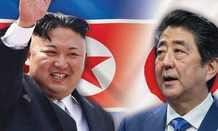 Giappone esplora possibilità summit tra Shinzo Abe e Kim Jong Un