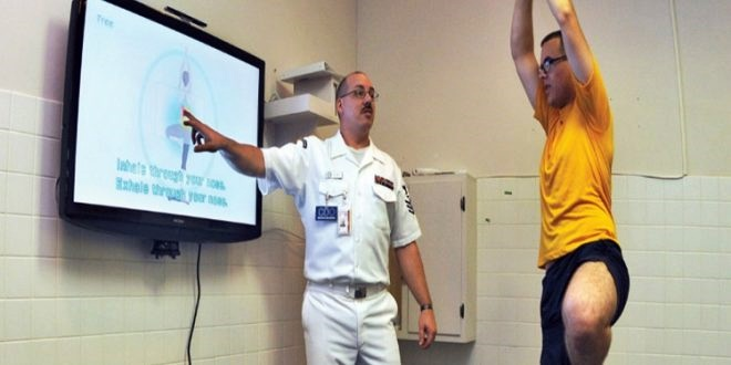 Innovativa soluzione high-tech, video game per fare attività fisica adatta a sclerosi multipla
