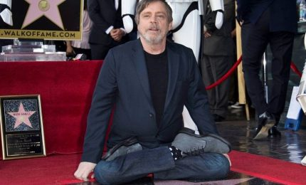 Una stella per lo Jedi Mark Hamill sulla Walk of Fame
