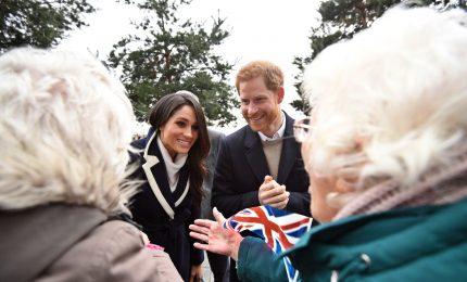 Il principe Harry e la fidanzata Meghan a Birmingham