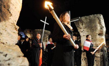 Papa alla Via Crucis: vergogna per mondo fratturato dalle guerre