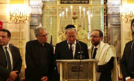 A Parigi omaggio in Sinagoga a Mireille Knoll