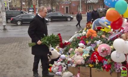 Russia, a Kemorovo Putin affronta la prima protesta di nuovo mandato presidenziale