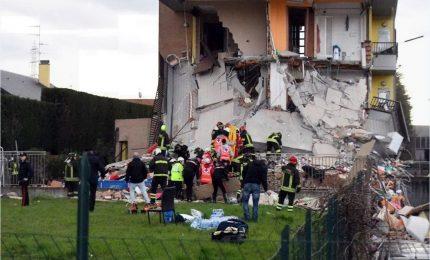 Palazzina di due piani crollata a Rescaldina, tutti in salvo i coinvolti