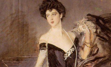Il ritratto di Donna Florio riabbraccia Palermo Capitale