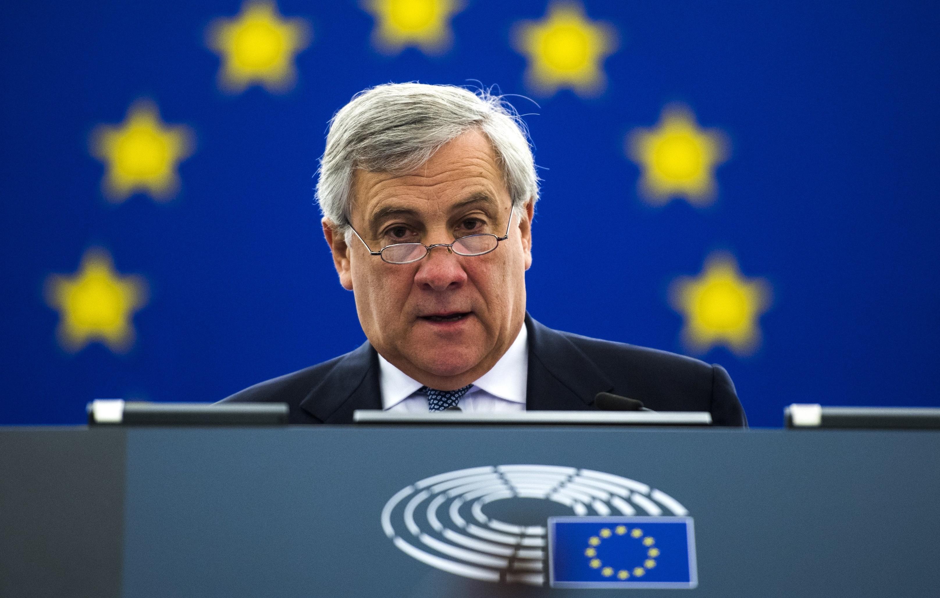 Tajani, pronto a ricandidarmi per la presidenza Pe