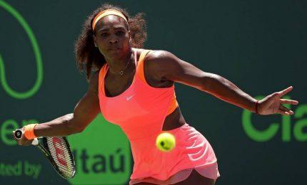 Wta Miami, Serena Williams ko all'esordio