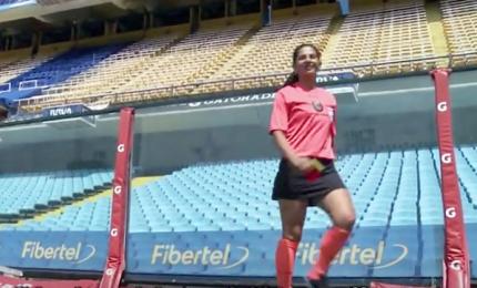 Ritratti di donne: un arbitro a Buenos Aires