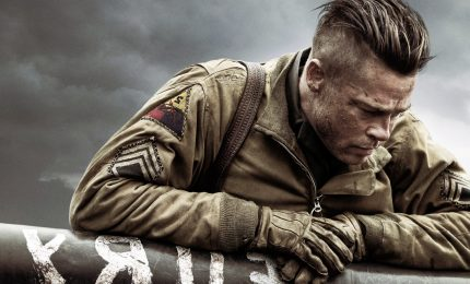 """Fury"", in prima tv un film di guerra con Brad Pitt"