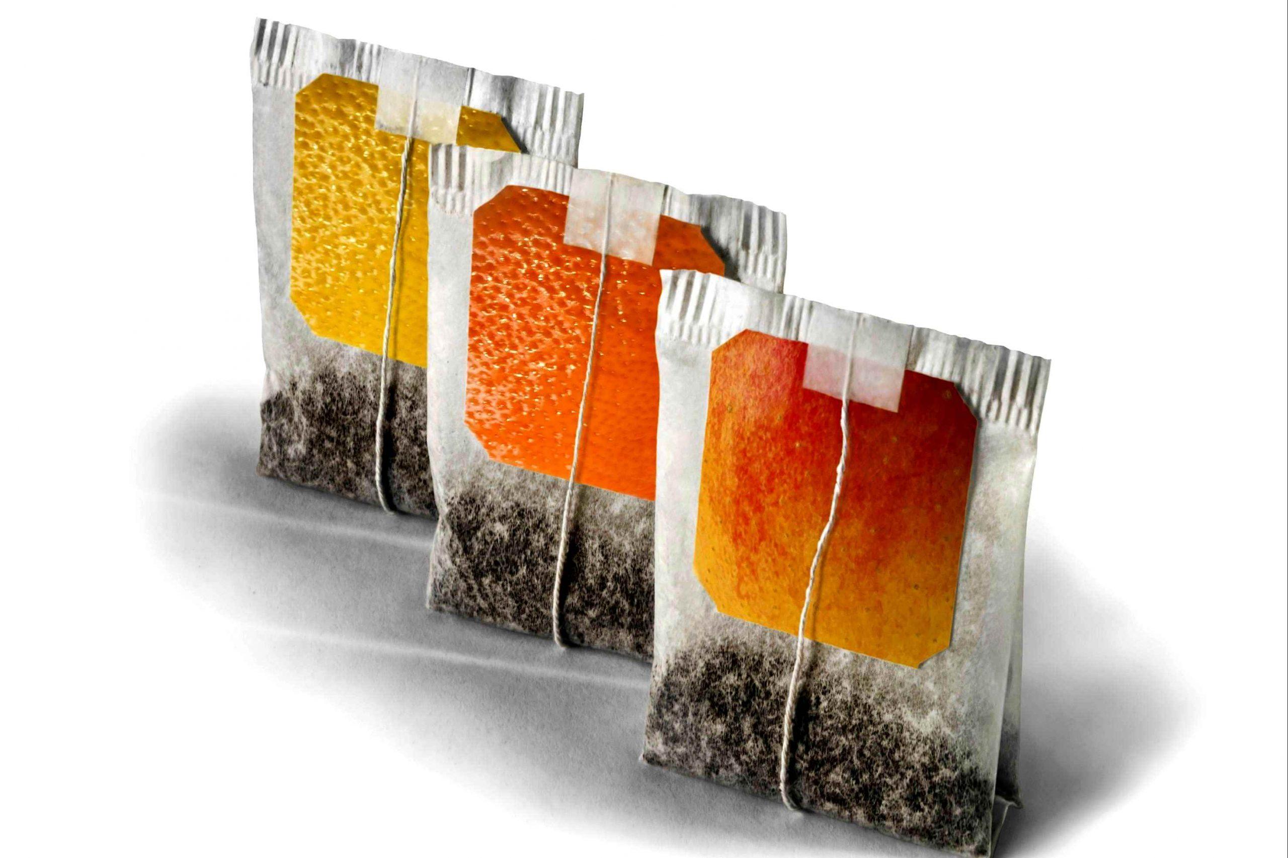 Bustine di tè usate, benessere per la pelle e l'ambiente