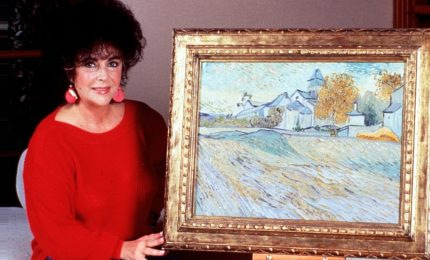 All'asta il Van Gogh appartenuto a Liz Taylor
