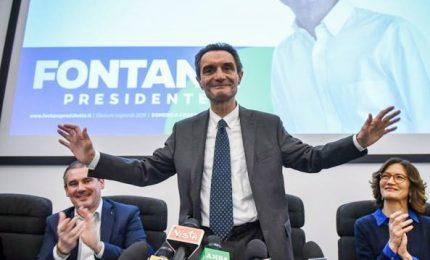 """Fontana governatore: """"Una buona vittoria"""". Gori ammette la sconfitta"""