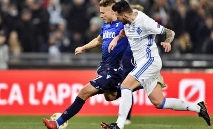 Lazio contro un palo, con la Dinamo e' 2-2