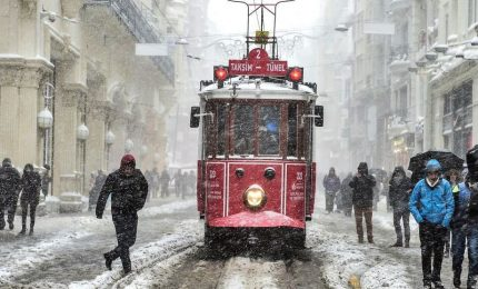 Una cartolina da Istanbul, Santa Sofia sotto la neve