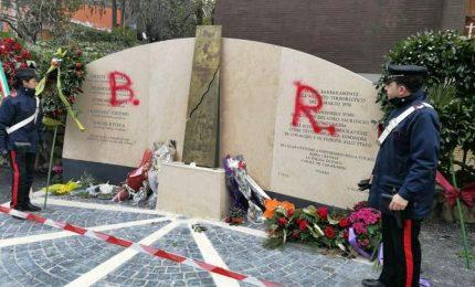 """""""BR"""", imbrattata lapide via Fani. Procura Roma attende informativa"""