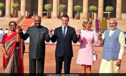 """Macron in India, """"suggellare patto forte"""" con Nuova Delhi"""