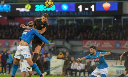 Il Napoli fermo al palo, la Juventus se ne va
