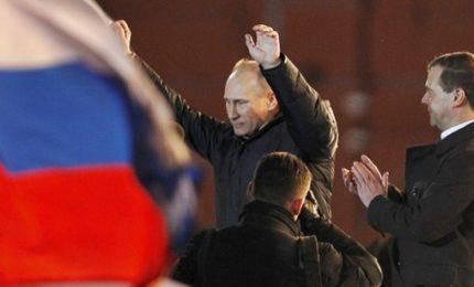 Trionfo Putin, presidente della Russia per la quarta volta