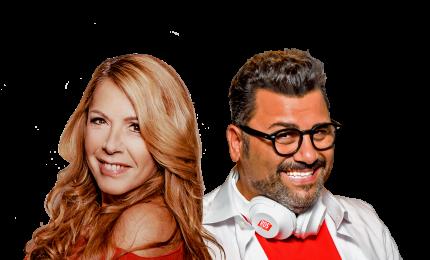 """Friscia in radio con Anna Pettineli. E anche sul set di """"Free"""""""