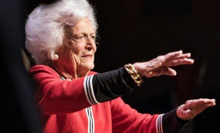 E' morta l'ex first lady Barbara Bush, moglie del 41esimo presidente Usa. Aveva 92 anni