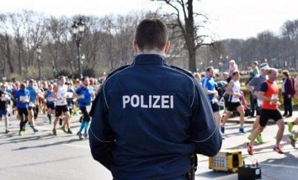 Attacco sventato a mezza maratona di Berlino, 6 arrestati.